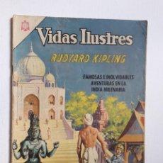 Tebeos: VIDAS ILUSTRES N° 129 - RUDYARD KIPLING - ORIGINAL EDITORIAL NOVARO. Lote 289592203
