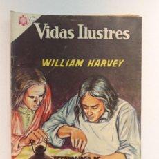 Tebeos: VIDAS ILUSTRES N° 123 - WILLIAM HARVEY - ORIGINAL EDITORIAL NOVARO. Lote 289592703