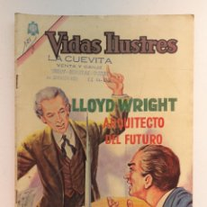 Tebeos: VIDAS ILUSTRES N° 121 - LLOYD WRIGHT (ARQUITECTO DEL FUTURO) - ORIGINAL EDITORIAL NOVARO. Lote 289592963