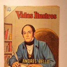 Tebeos: VIDAS ILUSTRES N° 118 - ANDRÉS BELLO - ORIGINAL EDITORIAL NOVARO. Lote 289593353
