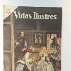 Tebeos: VIDAS ILUSTRES N° 108 - VELÁZQUEZ, PINTOR DE REYES - ORIGINAL EDITORIAL NOVARO. Lote 289594118