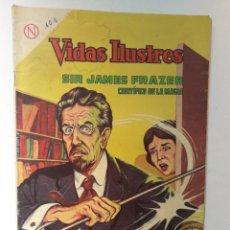 Tebeos: VIDAS ILUSTRES N° 101 - SIR JAMES FRAZER, CIENTÍFICO DE LA MAGIA - ORIGINAL EDITORIAL NOVARO. Lote 289594413