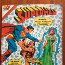 Tebeos: SUPERMAN - Nº 2 - 1430 NOVARO - SERIE AGUILA, 1983.. Lote 289609808