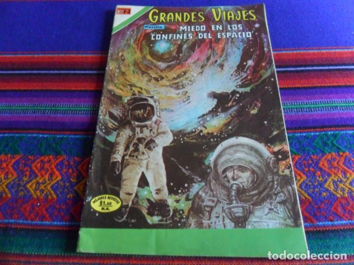 MUY BUEN ESTADO, GRANDES VIAJES Nº 144 MIEDO EN LOS CONFINES DEL ESPACIO. 1973. (Tebeos y Comics - Novaro - Grandes Viajes)