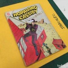 Tebeos: HOPALONG CASSIDY NOVARO, 5 NUMEROS (VER DESCRIPCION) EDITORIAL NOVARO AÑO 1966-1967. Lote 289672763