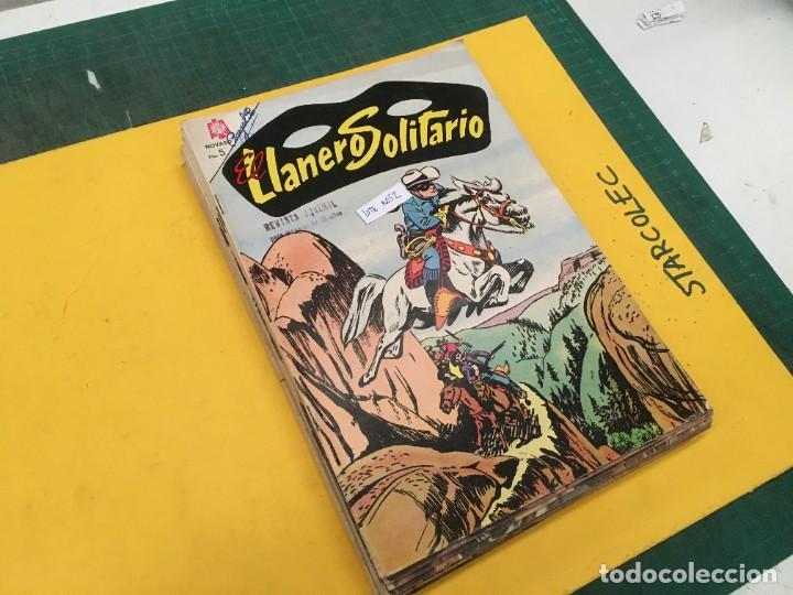 EL LLANERO SOLITARIO NOVARO, 11 NUMEROS (VER DESCRIPCION) EDITORIAL NOVARO AÑO 1965-1974 (Tebeos y Comics - Novaro - El Llanero Solitario)