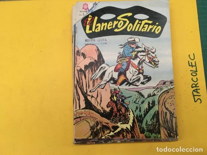 Tebeos: EL LLANERO SOLITARIO NOVARO, 11 NUMEROS (VER DESCRIPCION) EDITORIAL NOVARO AÑO 1965-1974 - Foto 2 - 289686228