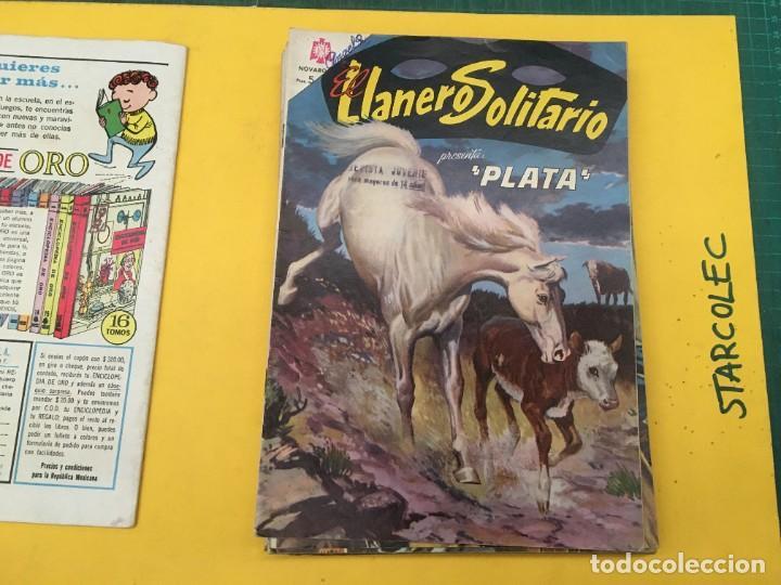 Tebeos: EL LLANERO SOLITARIO NOVARO, 11 NUMEROS (VER DESCRIPCION) EDITORIAL NOVARO AÑO 1965-1974 - Foto 3 - 289686228