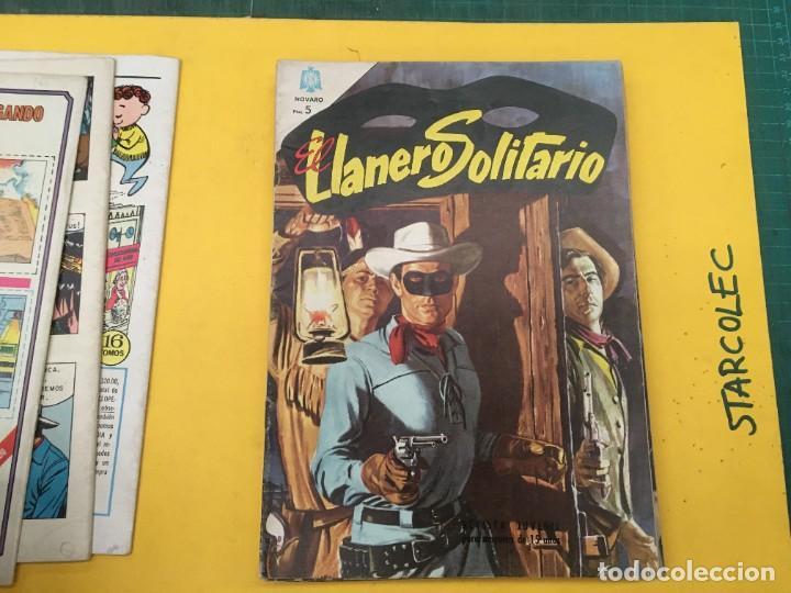 Tebeos: EL LLANERO SOLITARIO NOVARO, 11 NUMEROS (VER DESCRIPCION) EDITORIAL NOVARO AÑO 1965-1974 - Foto 5 - 289686228