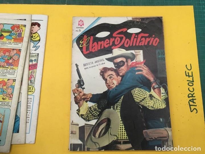 Tebeos: EL LLANERO SOLITARIO NOVARO, 11 NUMEROS (VER DESCRIPCION) EDITORIAL NOVARO AÑO 1965-1974 - Foto 6 - 289686228