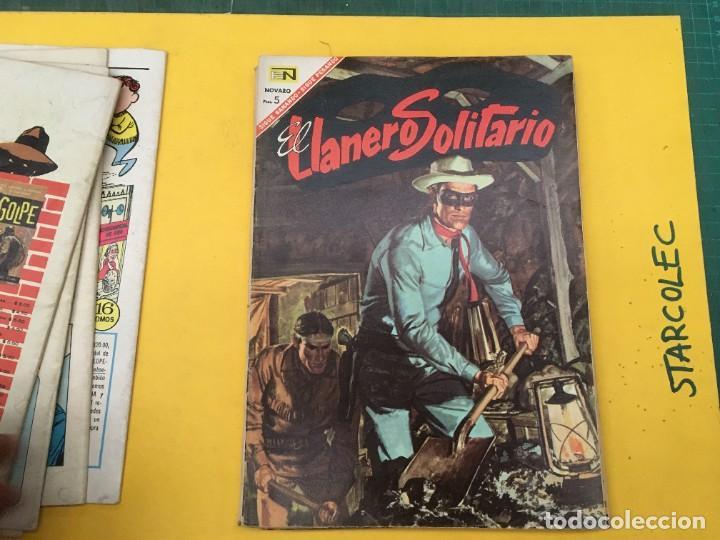 Tebeos: EL LLANERO SOLITARIO NOVARO, 11 NUMEROS (VER DESCRIPCION) EDITORIAL NOVARO AÑO 1965-1974 - Foto 7 - 289686228
