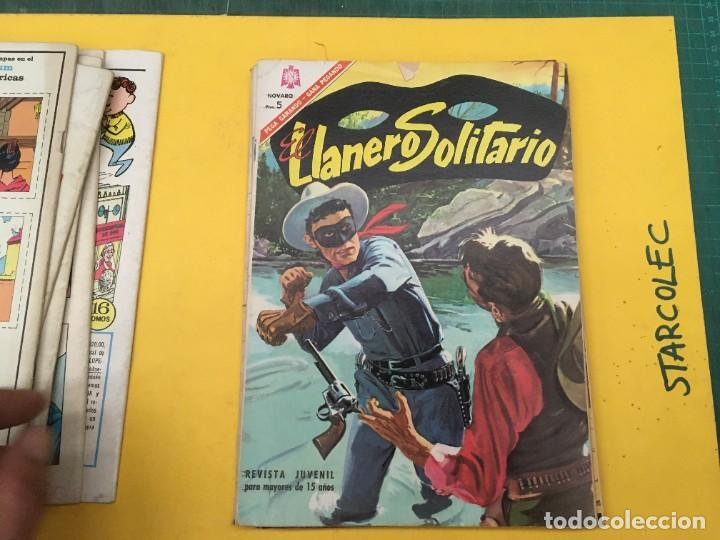 Tebeos: EL LLANERO SOLITARIO NOVARO, 11 NUMEROS (VER DESCRIPCION) EDITORIAL NOVARO AÑO 1965-1974 - Foto 8 - 289686228