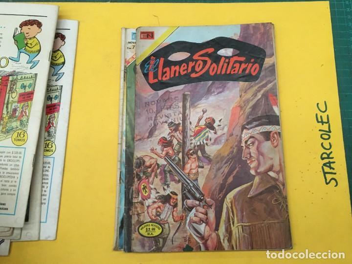 Tebeos: EL LLANERO SOLITARIO NOVARO, 11 NUMEROS (VER DESCRIPCION) EDITORIAL NOVARO AÑO 1965-1974 - Foto 10 - 289686228