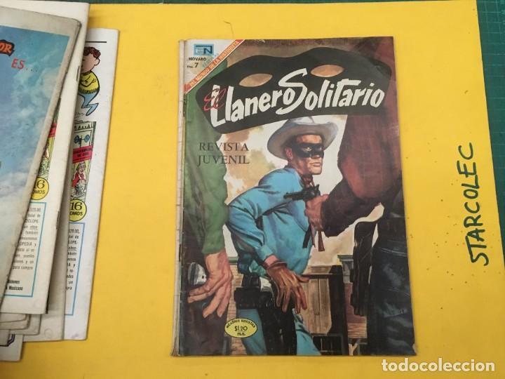 Tebeos: EL LLANERO SOLITARIO NOVARO, 11 NUMEROS (VER DESCRIPCION) EDITORIAL NOVARO AÑO 1965-1974 - Foto 11 - 289686228