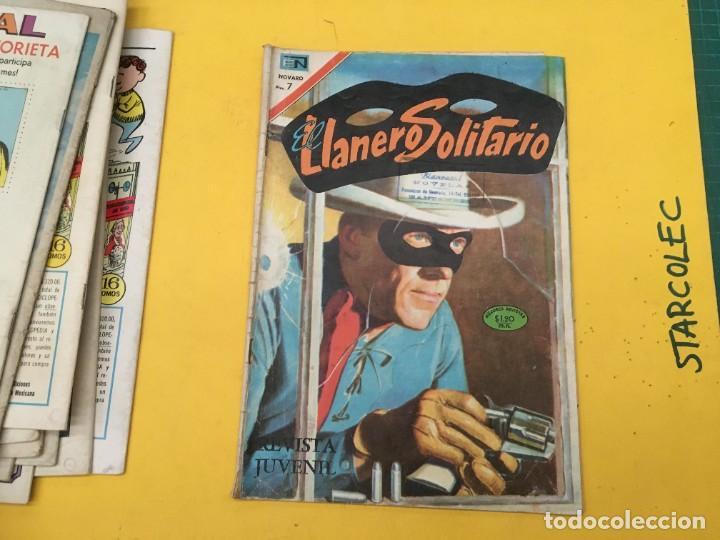 Tebeos: EL LLANERO SOLITARIO NOVARO, 11 NUMEROS (VER DESCRIPCION) EDITORIAL NOVARO AÑO 1965-1974 - Foto 12 - 289686228