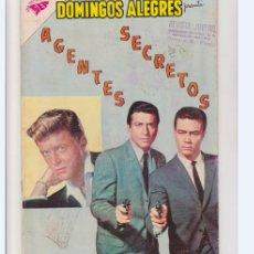 Tebeos: DOMINGOS ALEGRES NUMERO 384 AGENTES SECRETOS. Lote 289695568