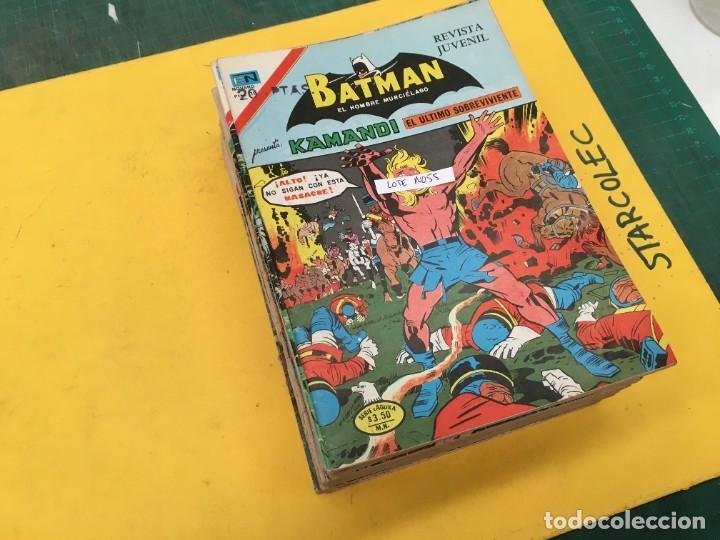 BATMAN SERIE AGUILA NOVARO, 30 NUMEROS (VER DESCRIPCION) EDITORIAL NOVARO AÑO 1975-1979 (Tebeos y Comics - Novaro - Batman)