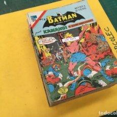 Tebeos: BATMAN SERIE AGUILA NOVARO, 30 NUMEROS (VER DESCRIPCION) EDITORIAL NOVARO AÑO 1975-1979. Lote 289805798