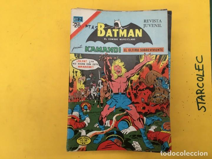 Tebeos: BATMAN SERIE AGUILA NOVARO, 30 NUMEROS (VER DESCRIPCION) EDITORIAL NOVARO AÑO 1975-1979 - Foto 2 - 289805798