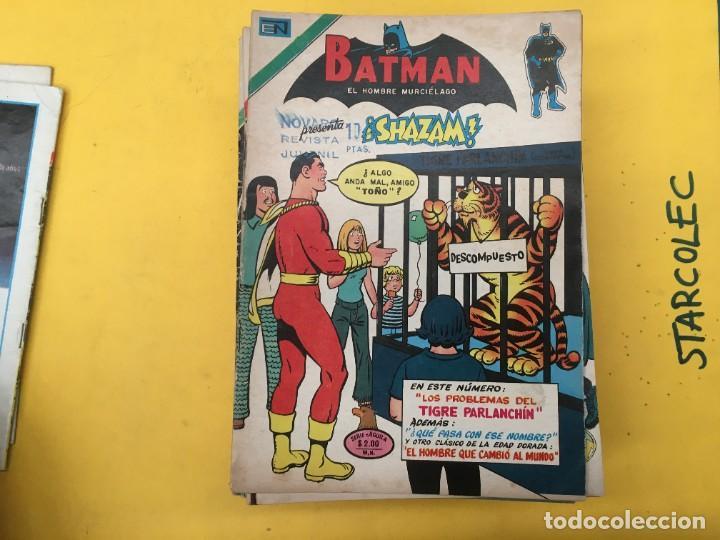 Tebeos: BATMAN SERIE AGUILA NOVARO, 30 NUMEROS (VER DESCRIPCION) EDITORIAL NOVARO AÑO 1975-1979 - Foto 4 - 289805798