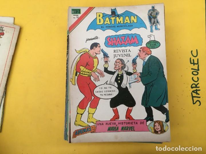 Tebeos: BATMAN SERIE AGUILA NOVARO, 30 NUMEROS (VER DESCRIPCION) EDITORIAL NOVARO AÑO 1975-1979 - Foto 5 - 289805798