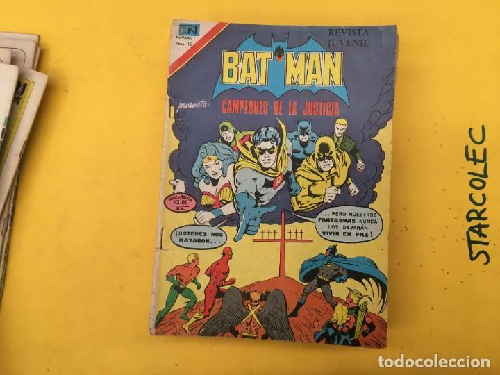 Tebeos: BATMAN SERIE AGUILA NOVARO, 30 NUMEROS (VER DESCRIPCION) EDITORIAL NOVARO AÑO 1975-1979 - Foto 12 - 289805798