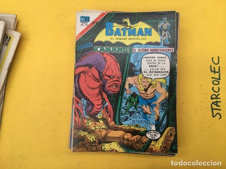 Tebeos: BATMAN SERIE AGUILA NOVARO, 30 NUMEROS (VER DESCRIPCION) EDITORIAL NOVARO AÑO 1975-1979 - Foto 14 - 289805798