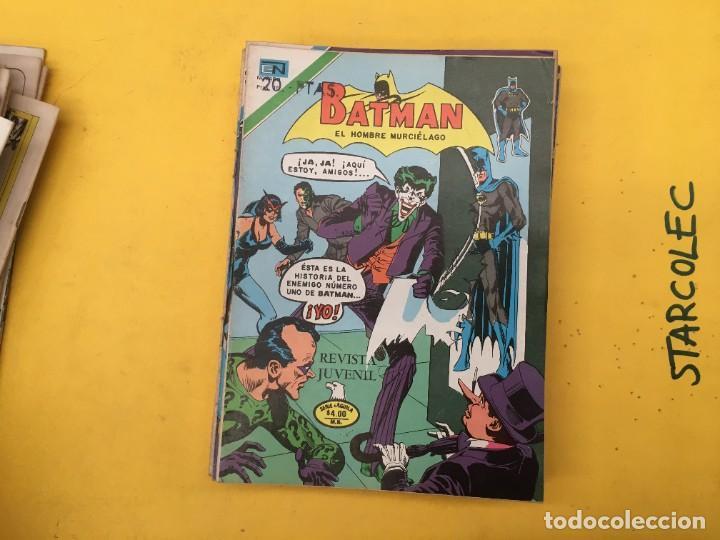 Tebeos: BATMAN SERIE AGUILA NOVARO, 30 NUMEROS (VER DESCRIPCION) EDITORIAL NOVARO AÑO 1975-1979 - Foto 18 - 289805798