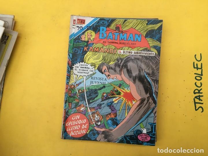 Tebeos: BATMAN SERIE AGUILA NOVARO, 30 NUMEROS (VER DESCRIPCION) EDITORIAL NOVARO AÑO 1975-1979 - Foto 21 - 289805798