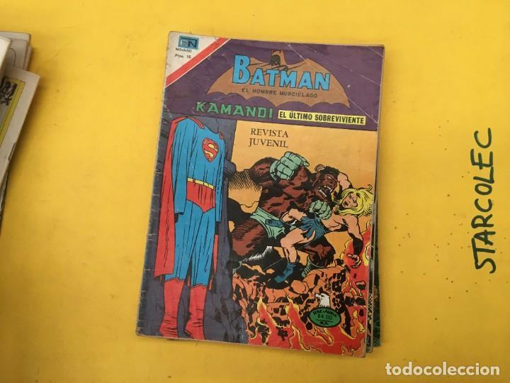 Tebeos: BATMAN SERIE AGUILA NOVARO, 30 NUMEROS (VER DESCRIPCION) EDITORIAL NOVARO AÑO 1975-1979 - Foto 23 - 289805798