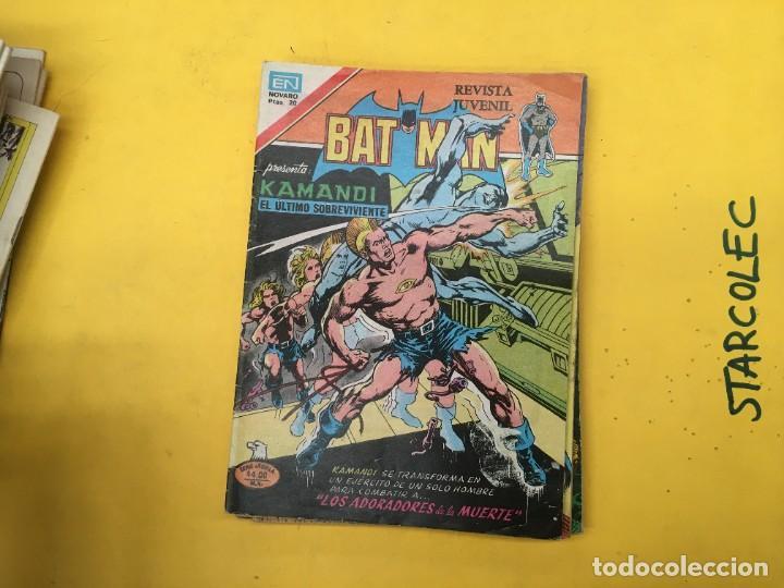 Tebeos: BATMAN SERIE AGUILA NOVARO, 30 NUMEROS (VER DESCRIPCION) EDITORIAL NOVARO AÑO 1975-1979 - Foto 27 - 289805798
