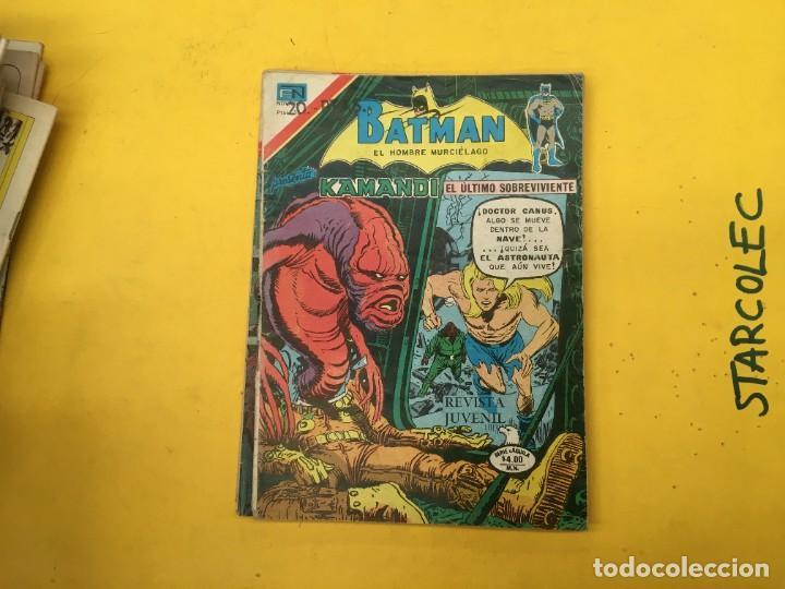 Tebeos: BATMAN SERIE AGUILA NOVARO, 30 NUMEROS (VER DESCRIPCION) EDITORIAL NOVARO AÑO 1975-1979 - Foto 29 - 289805798