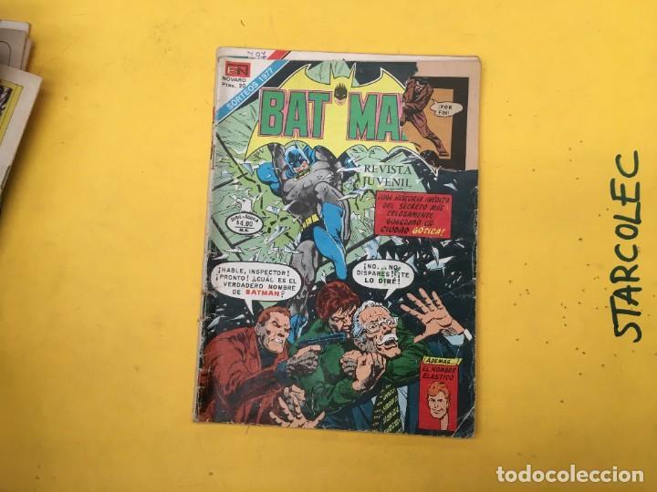 Tebeos: BATMAN SERIE AGUILA NOVARO, 30 NUMEROS (VER DESCRIPCION) EDITORIAL NOVARO AÑO 1975-1979 - Foto 31 - 289805798