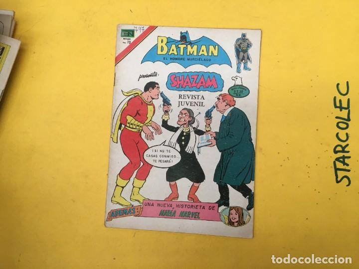 Tebeos: BATMAN SERIE AGUILA NOVARO, 30 NUMEROS (VER DESCRIPCION) EDITORIAL NOVARO AÑO 1975-1979 - Foto 32 - 289805798