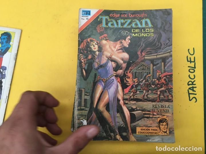 Tebeos: TARZAN DE LOS MONOS SERIE AGUILA NOVARO, 29 NUMEROS (VER DESCRIPCION) EDITORIAL NOVARO AÑO 1975-1978 - Foto 3 - 289810133