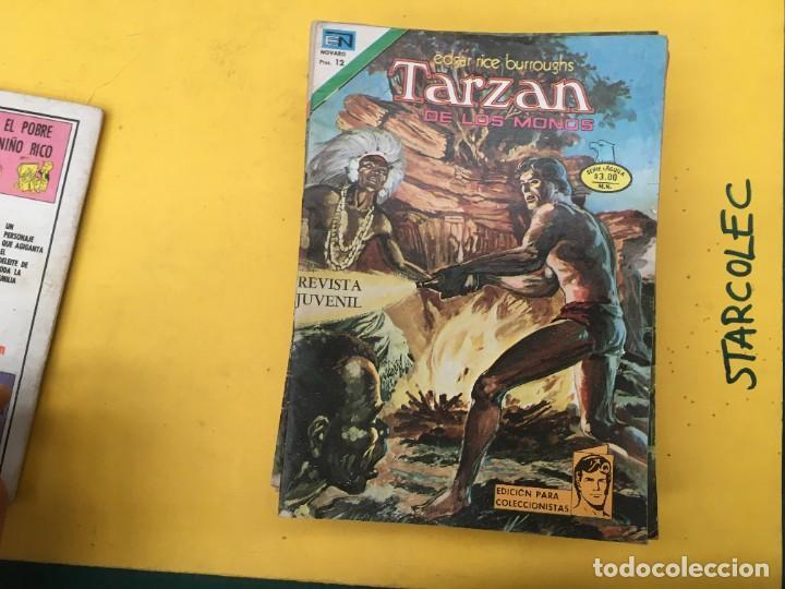 Tebeos: TARZAN DE LOS MONOS SERIE AGUILA NOVARO, 29 NUMEROS (VER DESCRIPCION) EDITORIAL NOVARO AÑO 1975-1978 - Foto 4 - 289810133