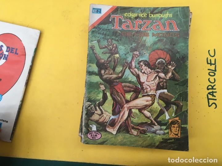 Tebeos: TARZAN DE LOS MONOS SERIE AGUILA NOVARO, 29 NUMEROS (VER DESCRIPCION) EDITORIAL NOVARO AÑO 1975-1978 - Foto 5 - 289810133