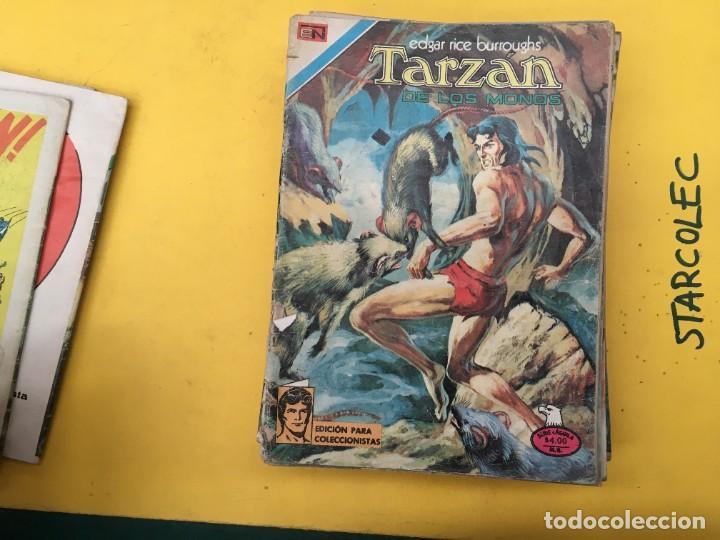 Tebeos: TARZAN DE LOS MONOS SERIE AGUILA NOVARO, 29 NUMEROS (VER DESCRIPCION) EDITORIAL NOVARO AÑO 1975-1978 - Foto 6 - 289810133