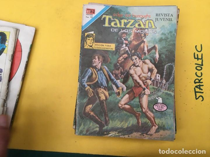 Tebeos: TARZAN DE LOS MONOS SERIE AGUILA NOVARO, 29 NUMEROS (VER DESCRIPCION) EDITORIAL NOVARO AÑO 1975-1978 - Foto 7 - 289810133