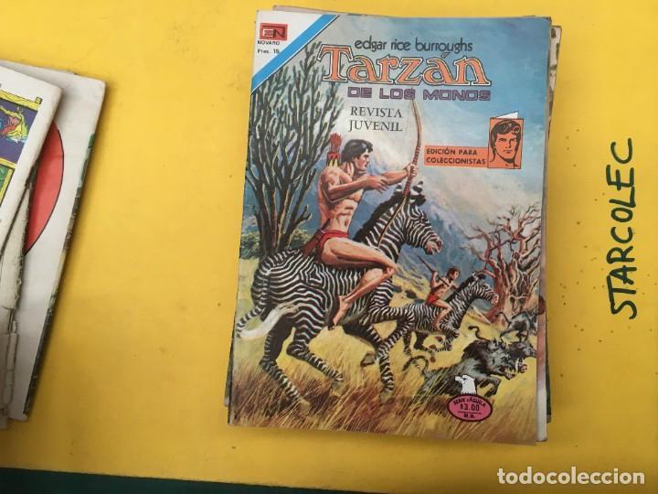 Tebeos: TARZAN DE LOS MONOS SERIE AGUILA NOVARO, 29 NUMEROS (VER DESCRIPCION) EDITORIAL NOVARO AÑO 1975-1978 - Foto 8 - 289810133