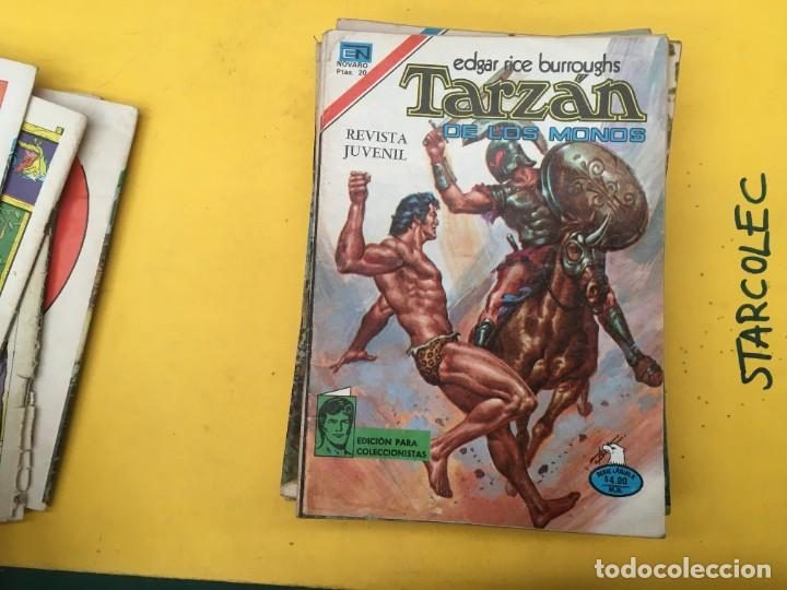 Tebeos: TARZAN DE LOS MONOS SERIE AGUILA NOVARO, 29 NUMEROS (VER DESCRIPCION) EDITORIAL NOVARO AÑO 1975-1978 - Foto 9 - 289810133