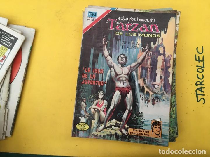 Tebeos: TARZAN DE LOS MONOS SERIE AGUILA NOVARO, 29 NUMEROS (VER DESCRIPCION) EDITORIAL NOVARO AÑO 1975-1978 - Foto 10 - 289810133
