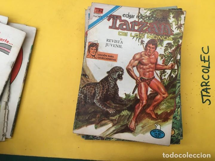 Tebeos: TARZAN DE LOS MONOS SERIE AGUILA NOVARO, 29 NUMEROS (VER DESCRIPCION) EDITORIAL NOVARO AÑO 1975-1978 - Foto 11 - 289810133