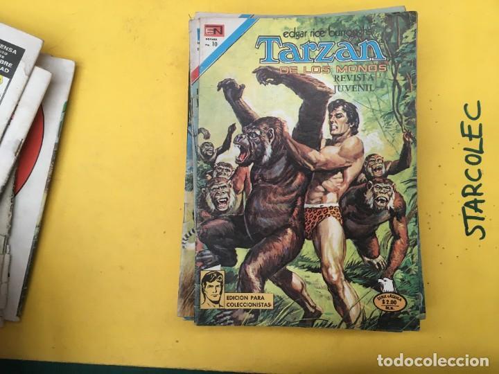 Tebeos: TARZAN DE LOS MONOS SERIE AGUILA NOVARO, 29 NUMEROS (VER DESCRIPCION) EDITORIAL NOVARO AÑO 1975-1978 - Foto 12 - 289810133