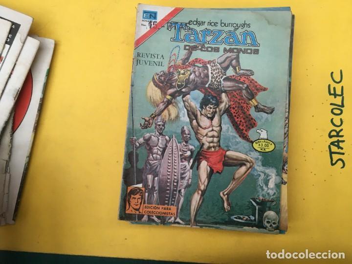 Tebeos: TARZAN DE LOS MONOS SERIE AGUILA NOVARO, 29 NUMEROS (VER DESCRIPCION) EDITORIAL NOVARO AÑO 1975-1978 - Foto 13 - 289810133