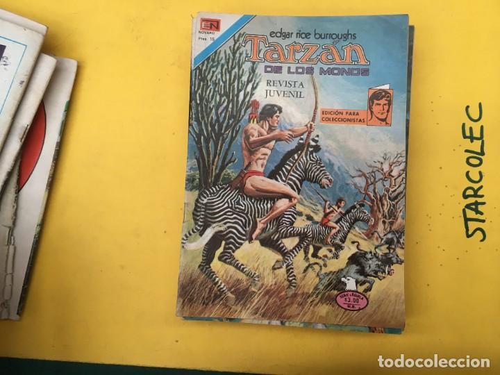Tebeos: TARZAN DE LOS MONOS SERIE AGUILA NOVARO, 29 NUMEROS (VER DESCRIPCION) EDITORIAL NOVARO AÑO 1975-1978 - Foto 14 - 289810133