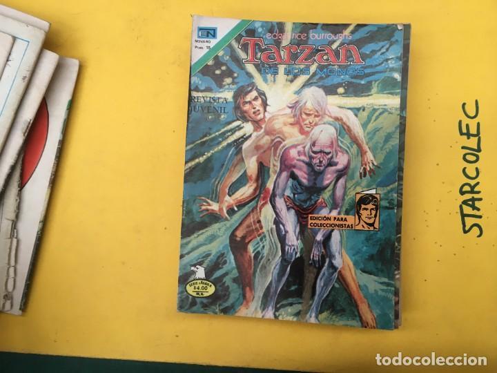Tebeos: TARZAN DE LOS MONOS SERIE AGUILA NOVARO, 29 NUMEROS (VER DESCRIPCION) EDITORIAL NOVARO AÑO 1975-1978 - Foto 15 - 289810133