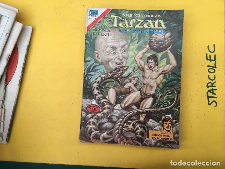 Tebeos: TARZAN DE LOS MONOS SERIE AGUILA NOVARO, 29 NUMEROS (VER DESCRIPCION) EDITORIAL NOVARO AÑO 1975-1978 - Foto 16 - 289810133