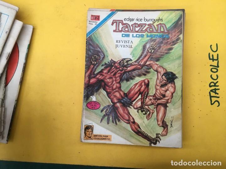 Tebeos: TARZAN DE LOS MONOS SERIE AGUILA NOVARO, 29 NUMEROS (VER DESCRIPCION) EDITORIAL NOVARO AÑO 1975-1978 - Foto 17 - 289810133