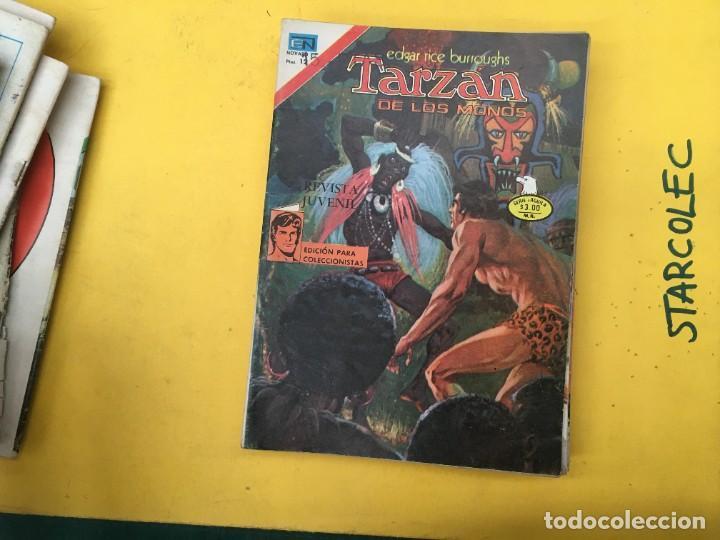Tebeos: TARZAN DE LOS MONOS SERIE AGUILA NOVARO, 29 NUMEROS (VER DESCRIPCION) EDITORIAL NOVARO AÑO 1975-1978 - Foto 18 - 289810133